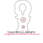 CC Designs - Cutter Dies - Birthday Birgitta Outline