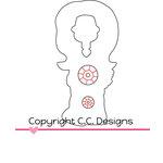 CC Designs - Cutter Dies - Birthday Birgitta Outline