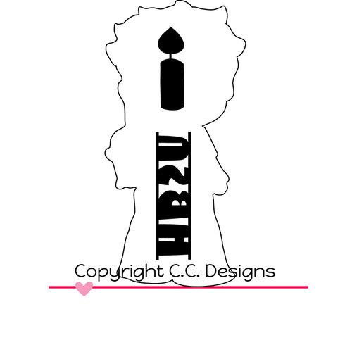 CC Designs - Cutter Dies - Birthday Eli Outline