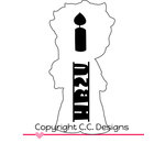 CC Designs - Cutter Dies - Birthday Eli Outline