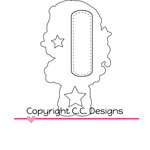 CC Designs - Cutter Dies - Princess Birgitta