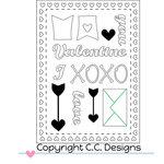 CC Designs - Cutter Dies - Make a Card 12 - Smoochy