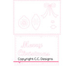 CC Designs - Cutter Dies - Make A Card - Christmas