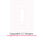 CC Designs Rectangles 1 Cutter Dies
