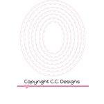 CC Designs - Cutter Dies - Ovals