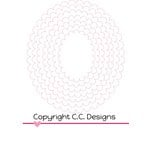 CC Designs - Cutter Dies - Scalloped Ovals
