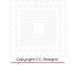 CC Designs - Cutter Dies - Scallop Squares