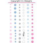 CC Designs - Enamel Dots - Snowy Day