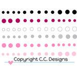 CC Designs - Enamel Dots - Smoochie