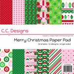 CC Designs - 6 x 6 Paper Pad - Merry Christmas