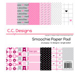 CC Designs - 6 x 6 Paper Pad - Smoochie