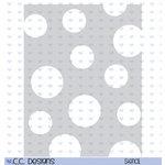 CC Designs - A2 Stencil - Circles