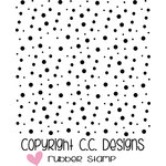 CC Designs - Clear Acrylic Stamps - Spotty Dots Background