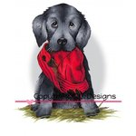 CC Designs - DoveArt Studio Collection - Cling Mounted Rubber Stamps - Bad Doggy