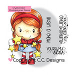 CC Designs - Little Pixie Collection - Clear Acrylic Stamps - Star