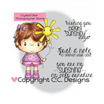 CC Designs - Little Pixie Collection - Clear Acrylic Stamps - Sunshine