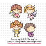 CC Designs - Cling Mounted Rubber Stamps - Wingy Things