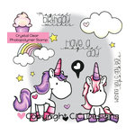 CC Designs - Meoples Collection - Clear Acrylic Stamps - Unicorn Dreams