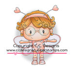 CC Designs - Pollycraft Collection - Cling Mounted Rubber Stamps - Spot