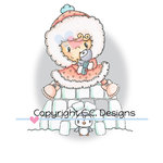 CC Designs - Pollycraft Collection - Cling Mounted Rubber Stamps - Iggy