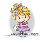 CC Designs - Pollycraft Collection - Clear Acrylic Stamps - Marieta