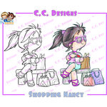 CC Designs - Robertos Rascals Collection - Cling Mounted Rubber Stamps - Shopping Nancy