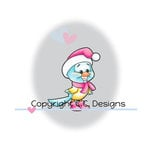 CC Designs - Robertos Rascals Collection - Cling Mounted Rubber Stamps - Winter Bird