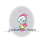 CC Designs - Robertos Rascals Collection - Cling Mounted Rubber Stamps - Winter Bird