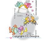 CC Designs - Robertos Rascals Collection - Clear Acrylic Stamps - Kissy Smoochy