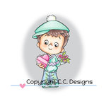 CC Designs - Robertos Rascals Collection - Clear Acrylic Stamps - Valentine Henry