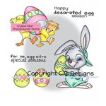 CC Designs - Robertos Rascals Collection - Clear Acrylic Stamps - Easter Funnies