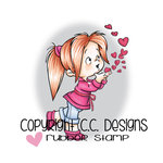 CC Designs - Robertos Rascals Collection - Cling Mounted Rubber Stamps - Hearts To You