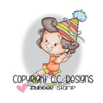 CC Designs - Robertos Rascals Collection - Cling Mounted Rubber Stamps - Dancing