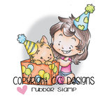 CC Designs - Rustic Sugar Collection - Cling Mounted Rubber Stamps - Cinnamon's Present