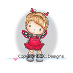 CC Designs - Swiss Pixie Collection - Clear Acrylic Stamps - Lil Love Bug