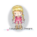 CC Designs - Swiss Pixie Collection - Clear Acrylic Stamps - Love Lucy