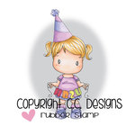 CC Designs - Swiss Pixie Collection - Cling Mounted Rubber Stamps - HB2U Birigtta