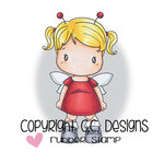 CC Designs - Swiss Pixie Collection - Cling Mounted Rubber Stamps - Bug Birgitta