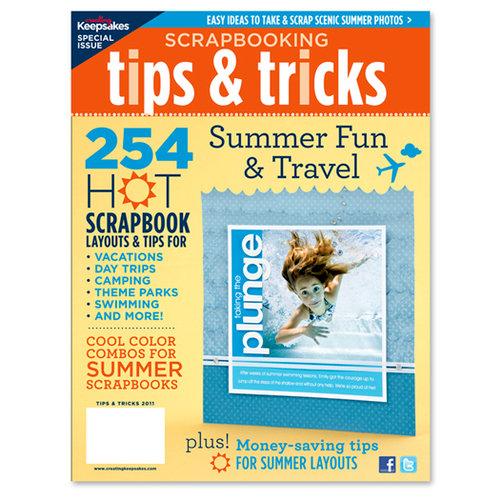 Creating Keepsakes - Scrapbooking Tips and Tricks - Summer Fun and Travel