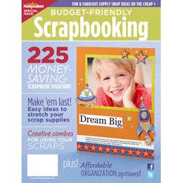 Creating Keepsakes - Budget Friendly Scrapbooking