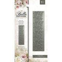 Crafter's Companion - Belle Countryside Collection - 3D Embossing Folder - Floral Lace