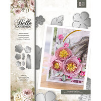 Crafter's Companion - Belle Countryside Collection - Metal Dies - Precious Peonies