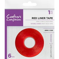Crafter's Companion - Red Liner Double Sided Tape - Medium