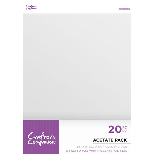 Crafter's Companion - Acetate Pack