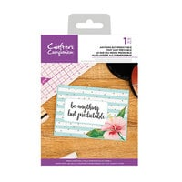 Crafter's Companion - Clear Acrylic Stamps - Anything But Predictable