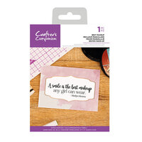 Crafter's Companion - Clear Acrylic Stamps - Best Makeup
