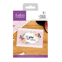 Crafter's Companion - Clear Acrylic Stamps - Be You Tiful