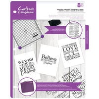 Crafter's Companion - Clear Acrylic Stamps - Believe in the Magic