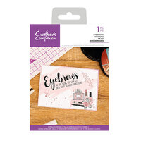 Crafter's Companion - Clear Acrylic Stamps - Eyebrows