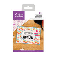 Crafter's Companion - Clear Acrylic Stamps - Favorite Human